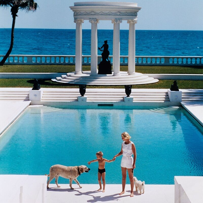 Slim Aarons, 'Nice Pool', Photography, C-print, Finarte