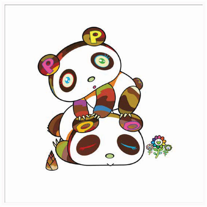 Takashi Murakami, 'Panda Hoyoyo Suyasuya', 2020, Print, Silkscreen on Paper, Marcel Katz Art