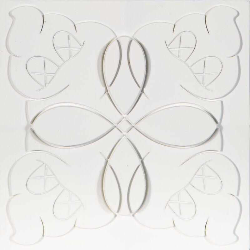 KAWS, 'OriginalFake Store Tile (White)', 2006, Design/Decorative Art, Ceramic tile, Heritage Auctions