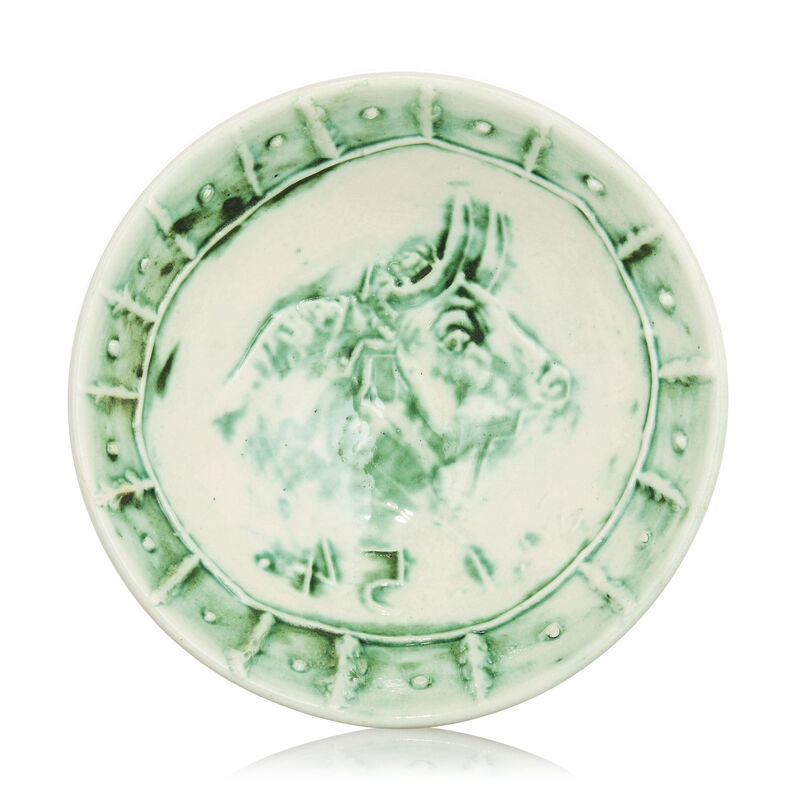 Pablo Picasso, 'Madoura Ceramic Bowl- Bol Tête de Taureau, Ramié 232', 1950-1959, Sculpture, Ceramic, Earthenware, Hirth Fine Art