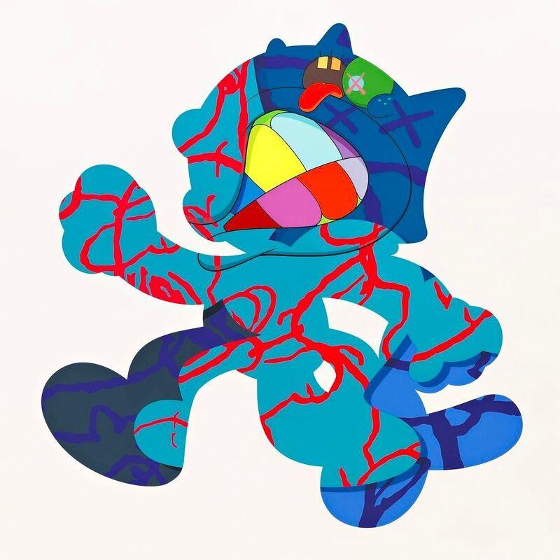 KAWS, 'Ankle Bracelet ', 2017, Print, Silkscreen on Paper, ArtLife Gallery