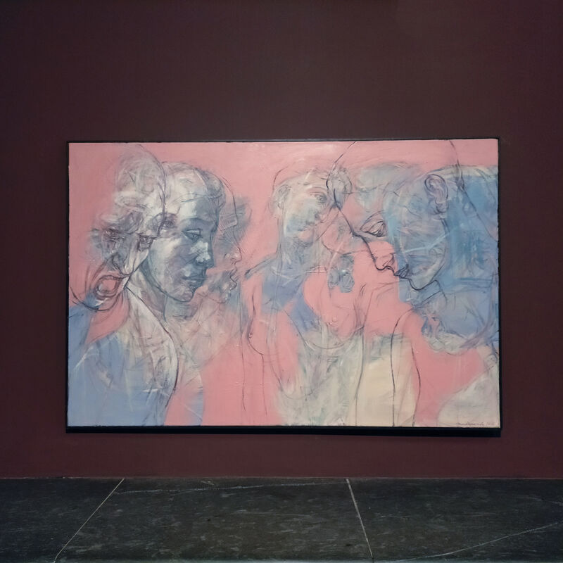 Henri Deparade, 'Agamemnon and Clytemnestra', 2017, Painting, Oil on canvas, Accesso Galleria