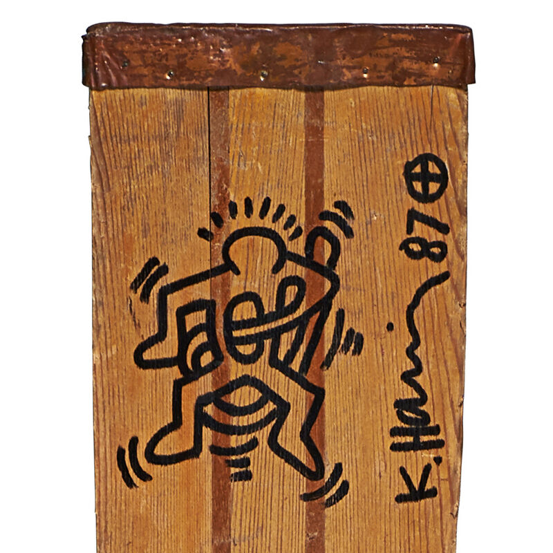 Keith Haring, 'Two works of art: Untitled; Keith Haring', Rago/Wright