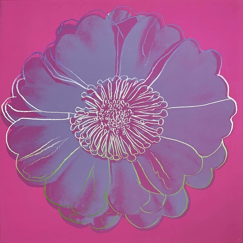 Andy Warhol, 'Flower for Tacoma Dome', 1982, Print, Unique screenprint on Lenox Museum Board, Hamilton-Selway Fine Art