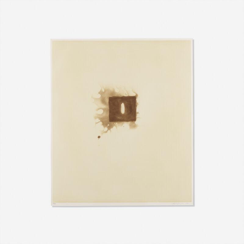 Anish Kapoor, 'Untitled from the Skowhegan Suite', 1991, Print, Aquatint, Rago/Wright