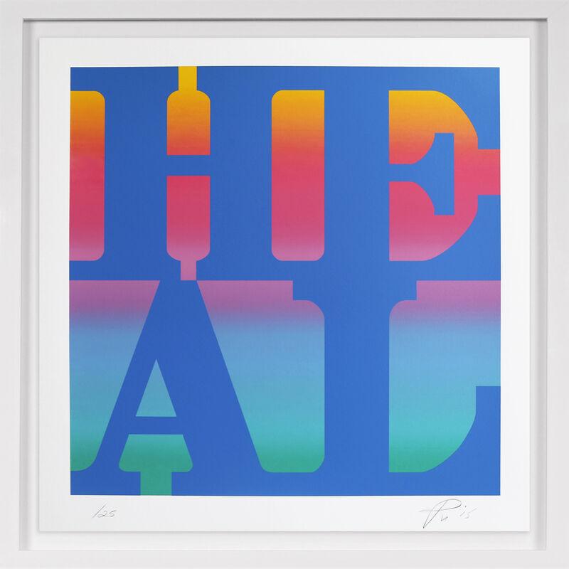 Robert Indiana, 'Heal', 2015, Print, Silkscreen Print on Paper, Arton Contemporary