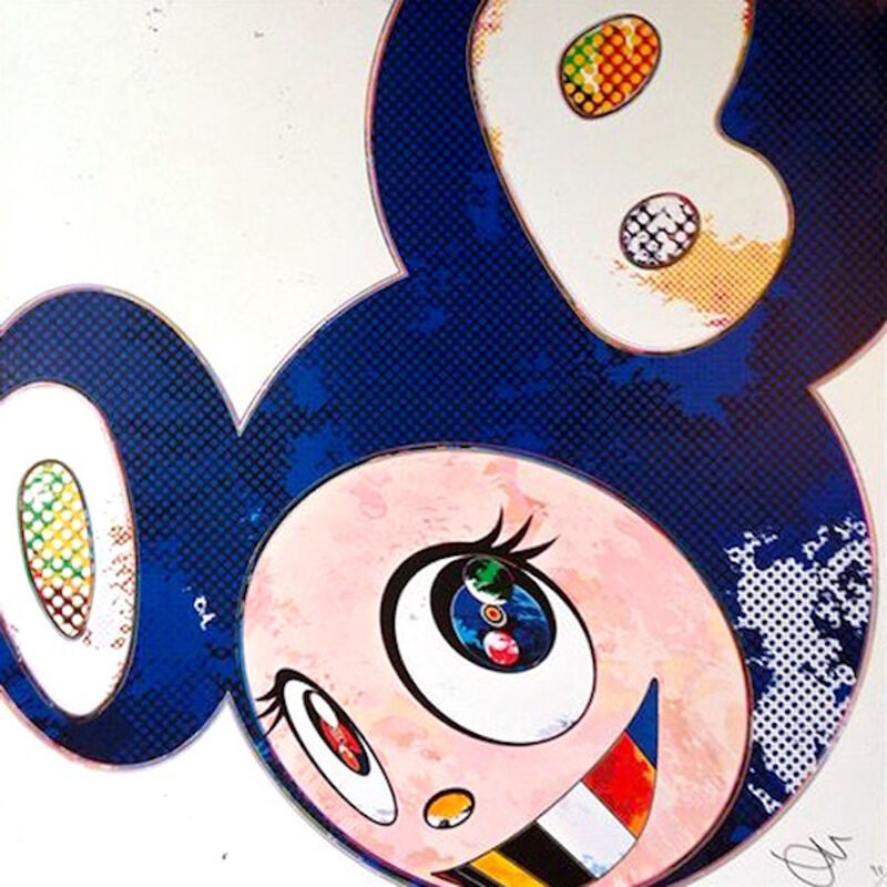 Takashi Murakami, 'And Then x 6 (Marine Blue: The Superflat Method)', 2013, Print, Offset lithograph, Dope! Gallery