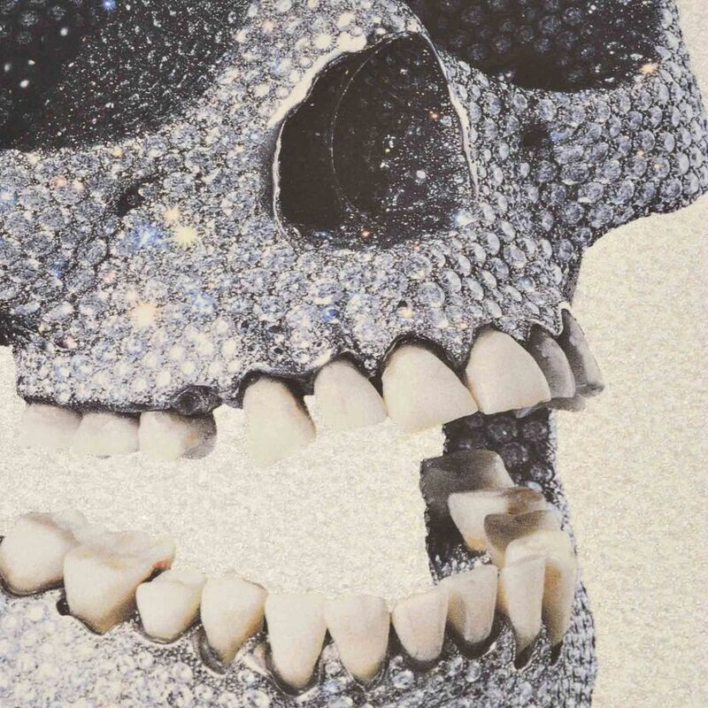 Damien Hirst, 'For the Love of God (White)', 2011, Print, Silkscreen Print with Glaze and Diamond Dust, Weng Contemporary
