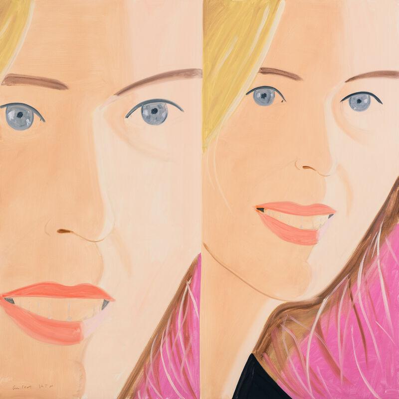 Alex Katz, '莎莎2 Sasha 2', 2016, Print, Achival pigment unks on Crane Museo Max 365 gsm fine art paper, Der-Horng Art Gallery