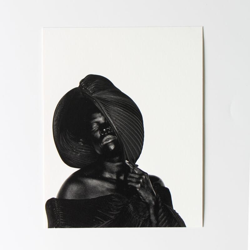 Zanele Muholi, 'MuMu X, London, 2019 (from THREE, Radius Books)', 2020, Print, Archival pigment print with book, Lougher Contemporary