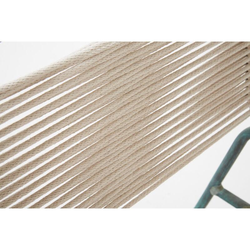 Walter Lamb, 'Pair of Lounge Chairs (No. C5700), USA', 1950s, Design/Decorative Art, Bronze, Nylon Rope, Rago/Wright/LAMA