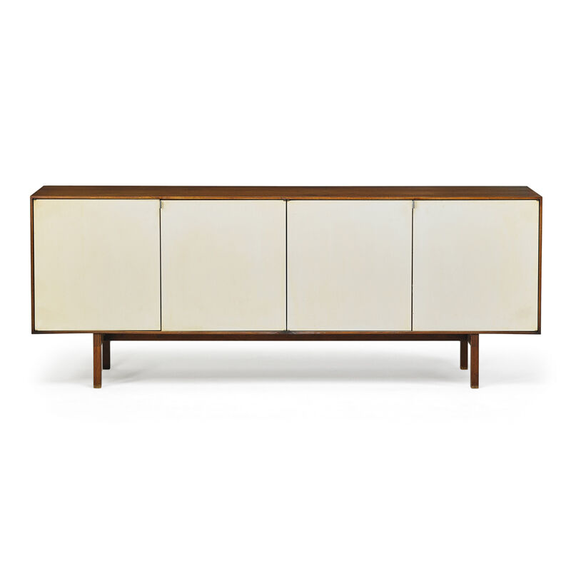 Florence Knoll, 'Cabinet (No. 541), New York', 1950s, Design/Decorative Art, Birch, Lacquered Wood, Chromed Steel, Rago/Wright