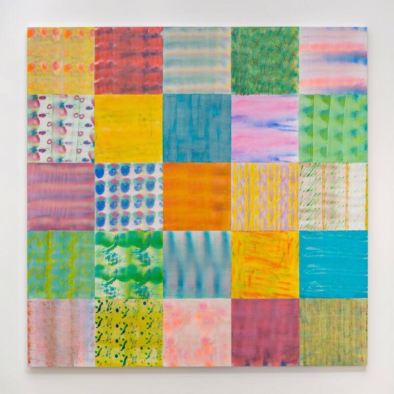 Luiz Zerbini, 'Dito Popular', 2017, Painting, Acrylic on canvas, Fortes D'Aloia & Gabriel