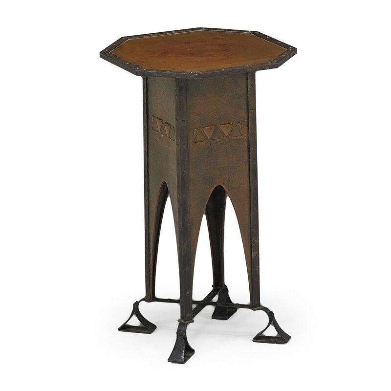 Unknown European, 'Plant Stand', Early 20th C., Design/Decorative Art, Copper, Iron, Rago/Wright