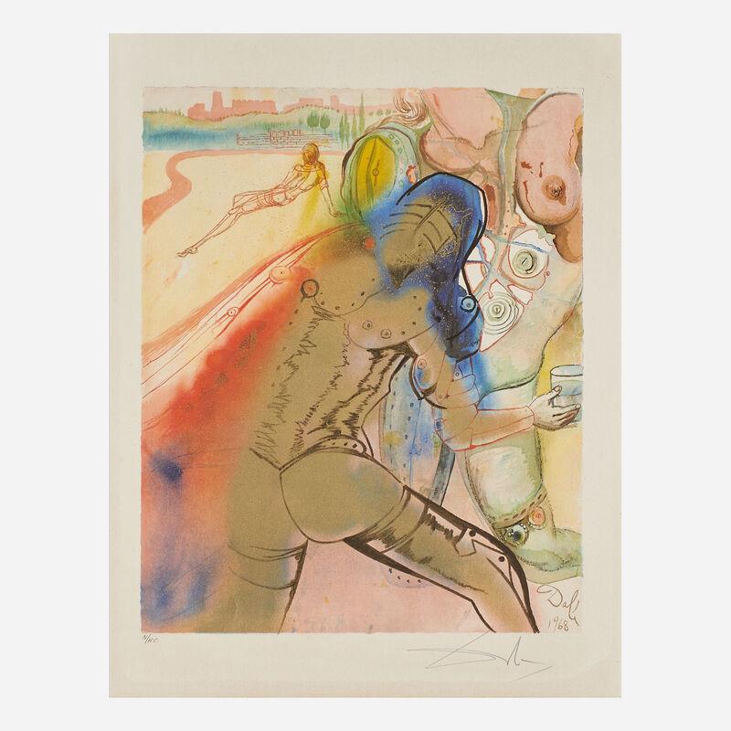 Salvador Dalí, 'The Marquis de Sade', 1969, Print, Twenty-five lithographs in colors on paper (in cloth portfolio), Rago/Wright