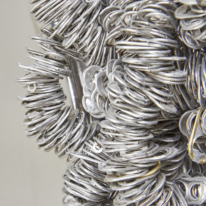 Clare Graham, 'Pop Top Mirror, Los Angeles, CA', 2000s, Design/Decorative Art, Tin can tabs, mirrored glass, Rago/Wright