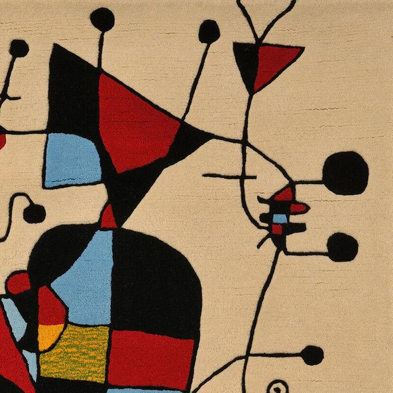 Joan Miró, 'Personnages et Chien devant le Soleil', 1949, Textile Arts, Tapestry, Weng Contemporary