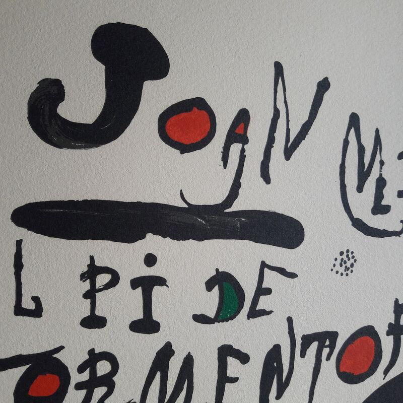 Joan Miró, 'El Pi de Formentor', 1976, Print, Colour lithograph on vellum paper, Invertirenarte.es