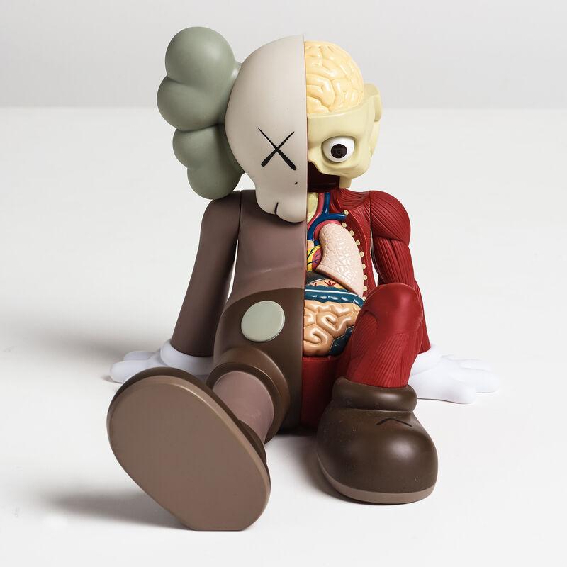 KAWS, 'Companion (Resting Place) (Brown)', ca. 2013, Sculpture, Vinyl Paint, Curator Style