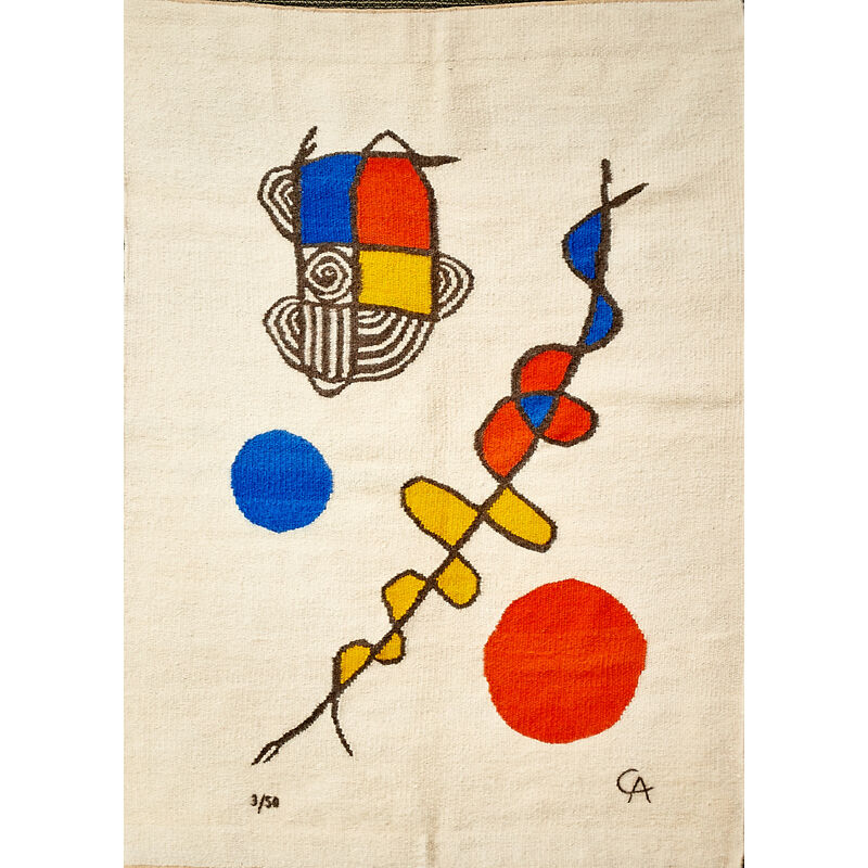 Royal Lesotho Tapestry Weavers, 'Wall-Hanging Tapestry, Africa', 1970s, Textile Arts, Mohair Wool, Rago/Wright