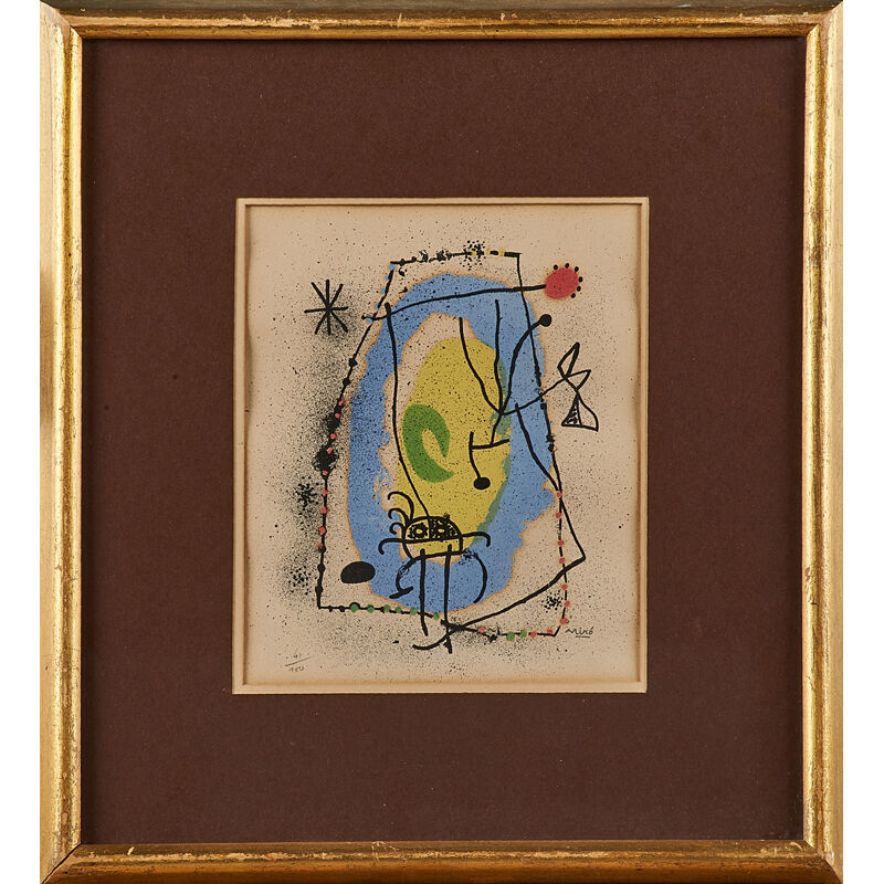 Joan Miró, 'Untitled (framed)', Print, Lithograph in colors, Rago/Wright/LAMA