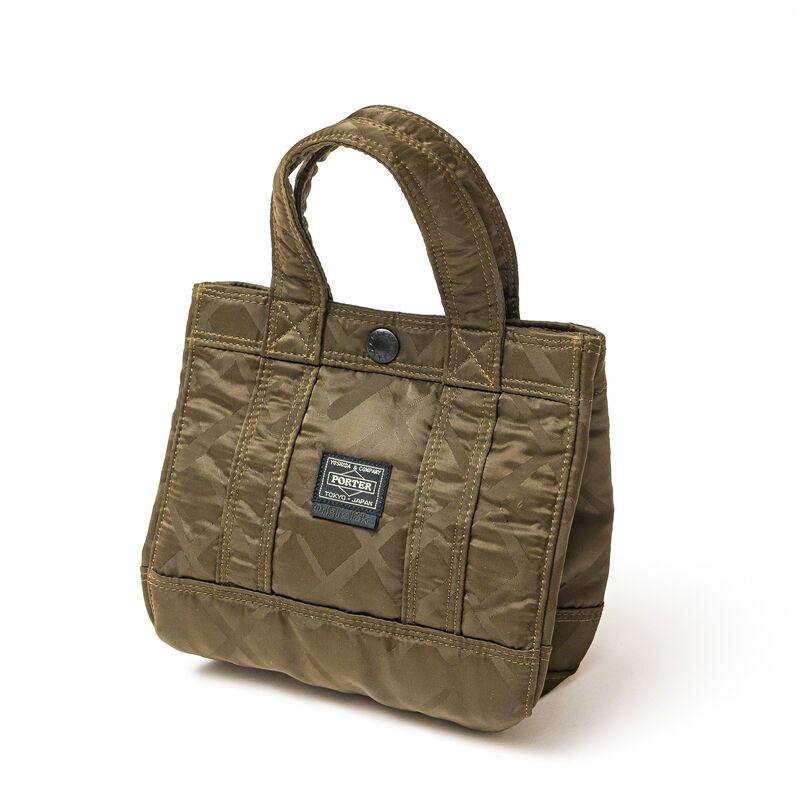 KAWS, 'PORTER MINI TOTE BAG (KHAKI)', 2008, Fashion Design and Wearable Art, Mini tote Bag, DIGARD AUCTION