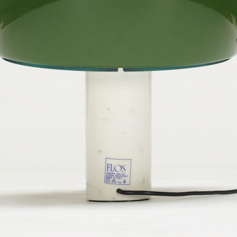 Achille and Pier Giacomo Castiglioni, 'Snoopy lamps, pair', 1967, Design/Decorative Art, Enameled aluminum, marble, glass, Rago/Wright