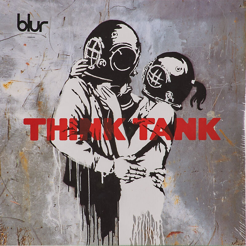 """Banksy, 'Two LP albums featuring artwork by Banksy, """"Think Tank by Blur"""" (sealed) and """"Peanut Butter Wolf"""" Badmeaninggood compilation', 2003, Other, Rago/Wright/LAMA"""