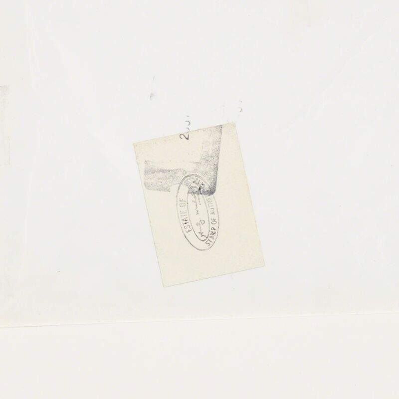 Andy Warhol, 'Untitled (Electric Chair)', Photography, Gelatin silver print, Rago/Wright/LAMA