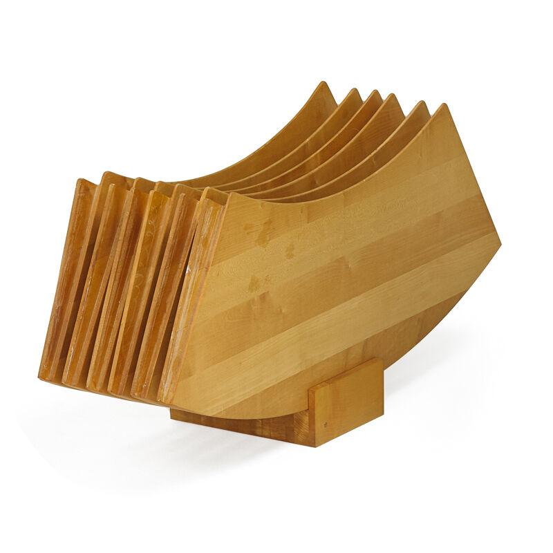 Poul Kjærholm, 'Dining Table Pk54, Denmark', 1960s, Design/Decorative Art, Flint-Rolled Cipollino Marble, Matte-Chromed Steel, Maple, Rubber, Rago/Wright
