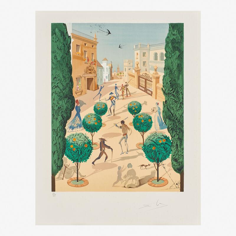 Salvador Dalí, 'The Opera Carmen', 1970, Print, Twenty five lithographs in color on paper (in cloth portfolio), Rago/Wright