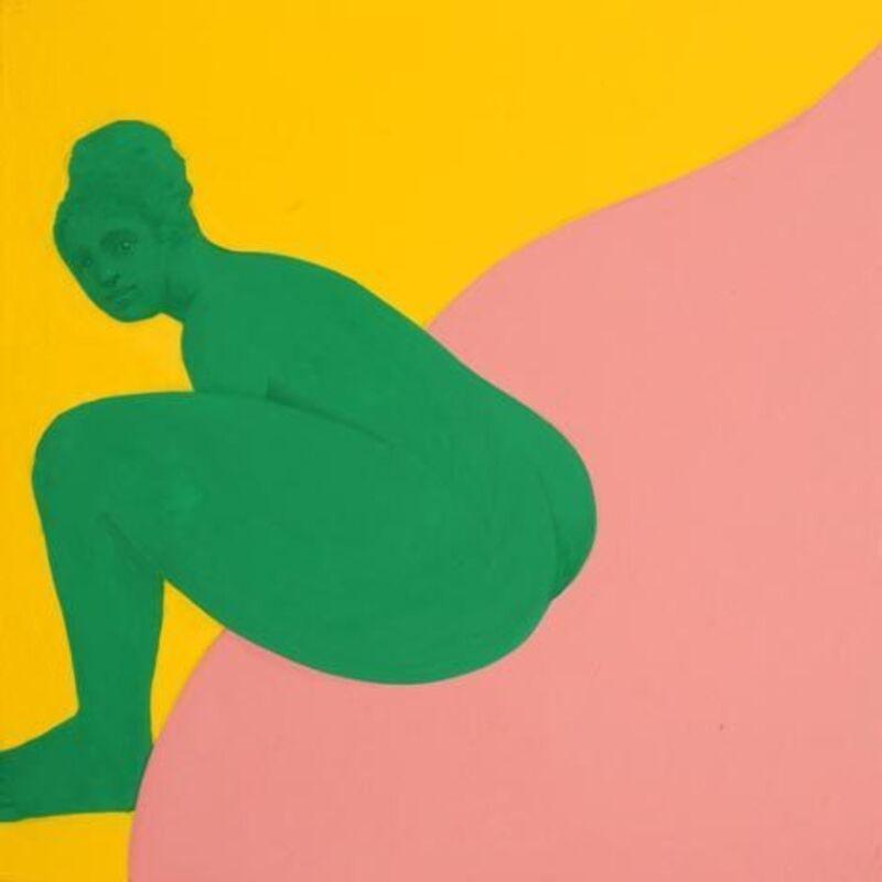 Piero Passacantando, 'Bather #9', 2016, Painting, Acrylic on panel, Uprise Art