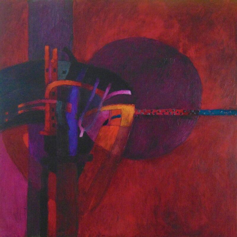 Fernando de Szyszlo, 'The Transfigured Night', 2017, Painting, Oil/Canvas, Galería Duque Arango