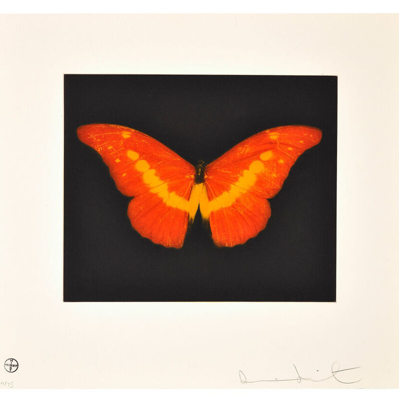 Damien Hirst, 'To Love (Butterfly)', 2008, Print, Etching, Weng Contemporary