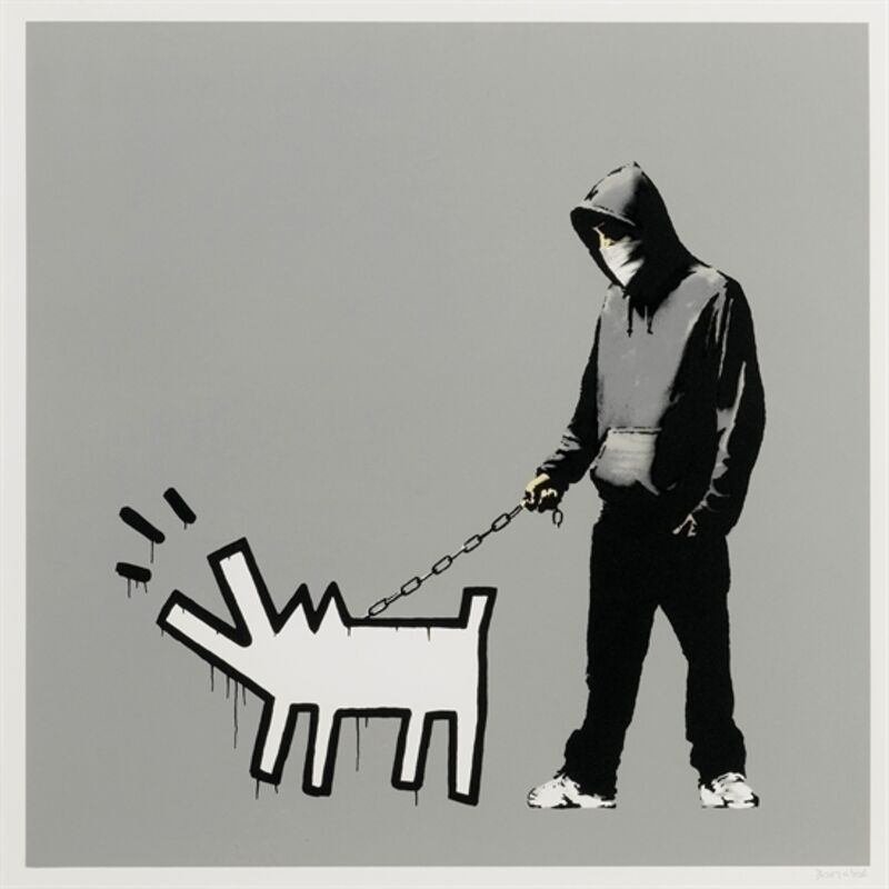 Banksy, 'Choose Your Weapon (Grey)', 2010, Print, Screen-print in colors on wove paper, MoonStar Fine Arts Advisors