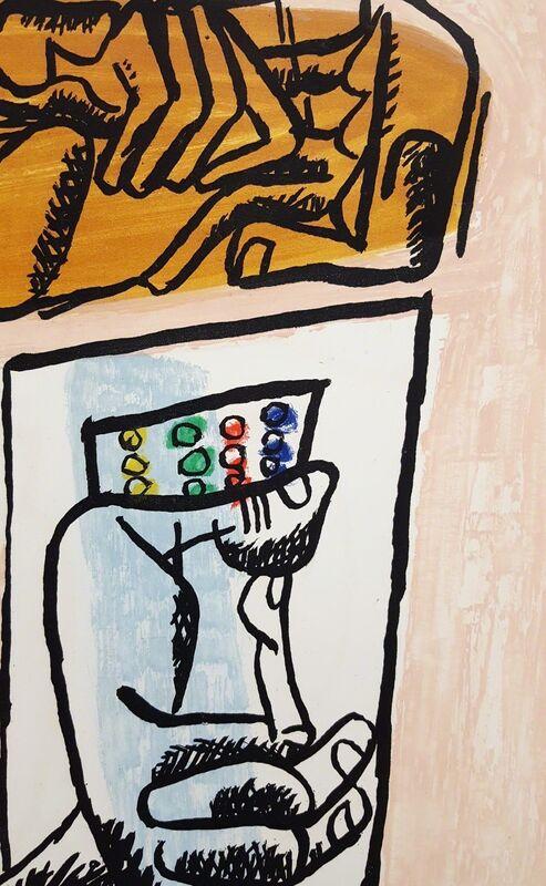 Le Corbusier, 'Unité, Planche 4 (Set of 2)', 1965, Print, Etching, Aquatint, Graves International Art