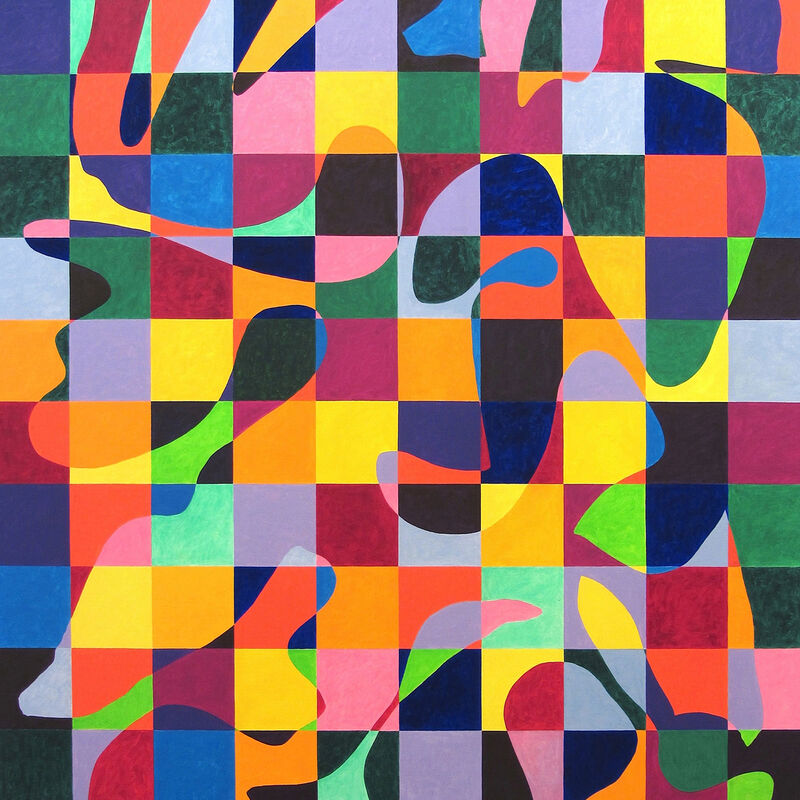 Dana Gordon, 'Balancing Act (Abstract painting)', 2012, Painting, Oil on canvas, IdeelArt