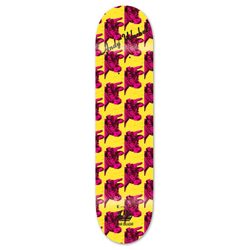 Andy Warhol, 'Andy Warhol Cow Skateboard Deck 2010 (New) ', ca. 2010, Ephemera or Merchandise, Silkscreen on maple wood, Lot 180