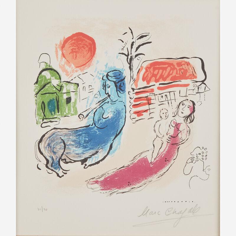 Marc Chagall, 'Maternité au Centaur', 1957, Print, Color lithograph on wove paper, Freeman's