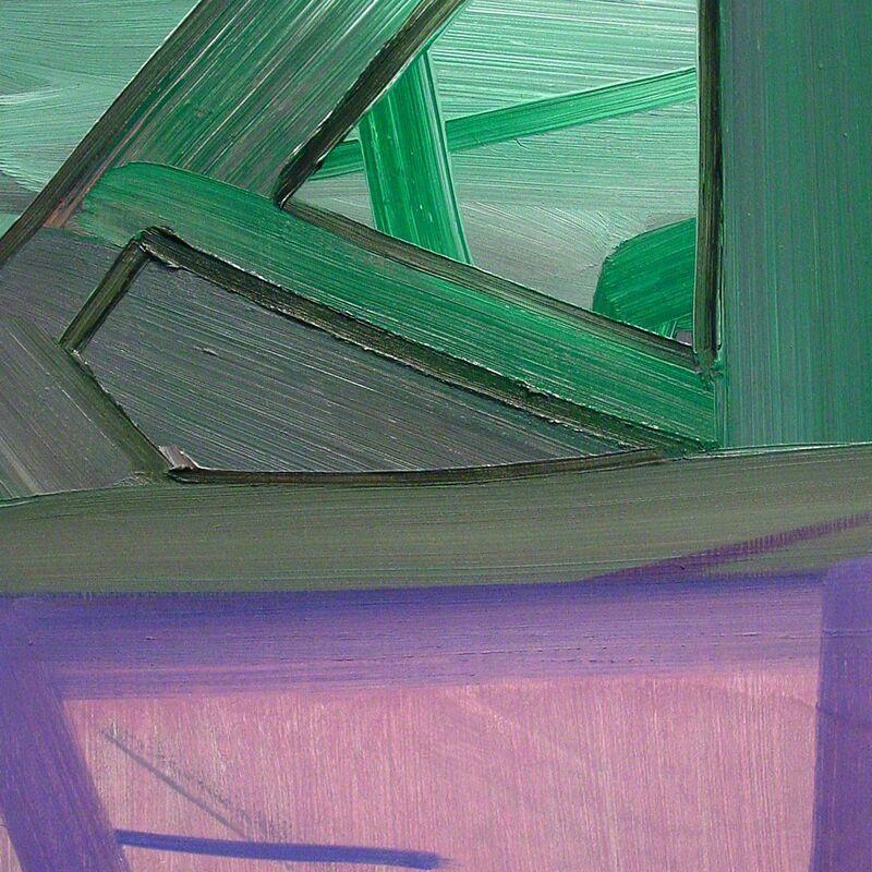 Ashlynn Browning, 'Purple Lush (Abstract painting)', 2010, Painting, Oil on panel, IdeelArt