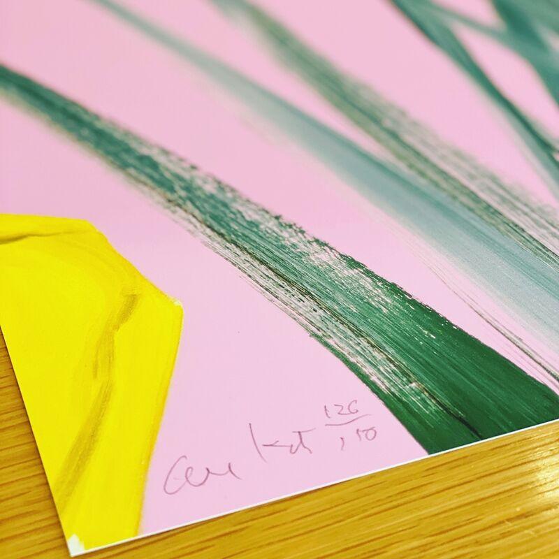 Alex Katz, 'Alex Katz | Yellow Flags  III (3) | Guggenheim Museum New York', 2020, Print, Archival pigment inks on Crane Museo Max 365 gsm paper., Frank Fluegel Gallery