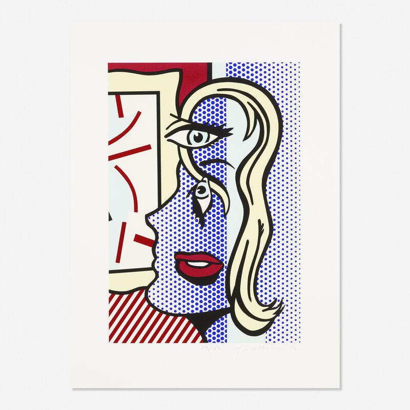 Roy Lichtenstein, 'Art Critic', 1996, Print, Screenprint in colors on Somerset, Rago/Wright/LAMA