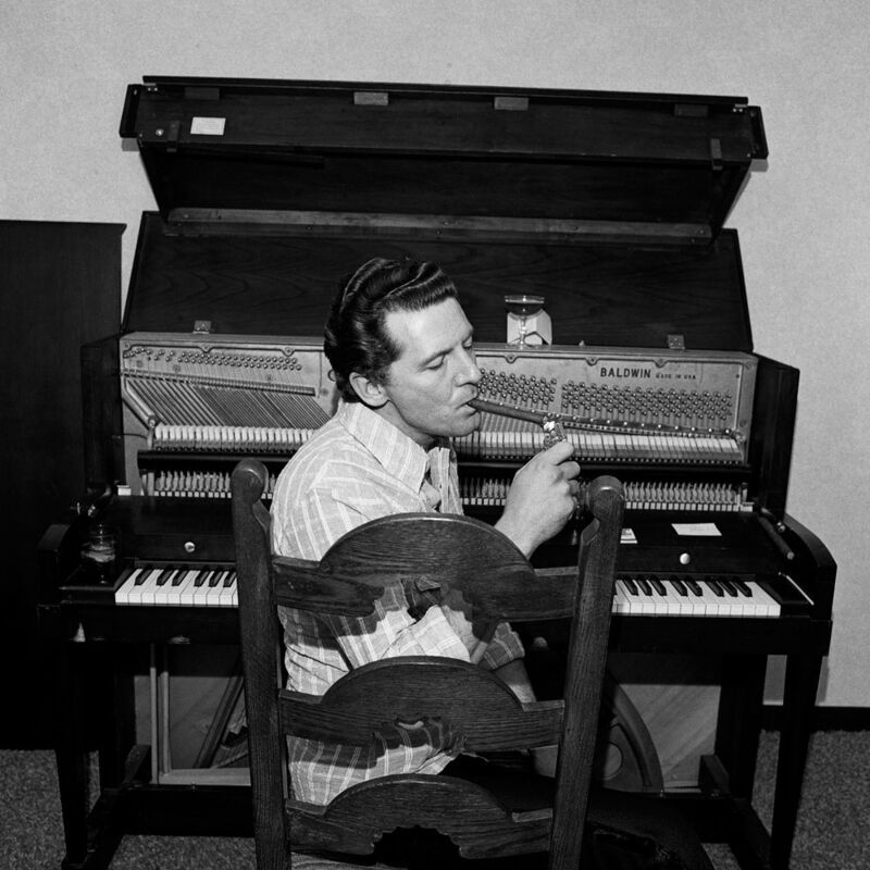 Henry Horenstein, 'Jerry Lee Lewis', 1976, Photography, Gelatin silver print, ClampArt