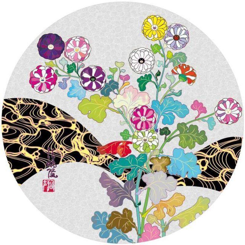 Takashi Murakami, 'Korin: Flowers', 2016, Print, Silkscreen on paper, Nohra Haime Gallery