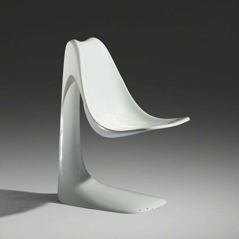 Angelo Mangiarotti, 'Chicago chair', 1983, Design/Decorative Art, Lacquered fiberglass, Rago/Wright
