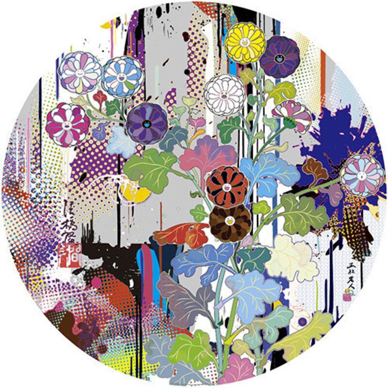 Takashi Murakami, 'Korin: Superstring Theory', 2015, Print, Offset lithograph, Dope! Gallery