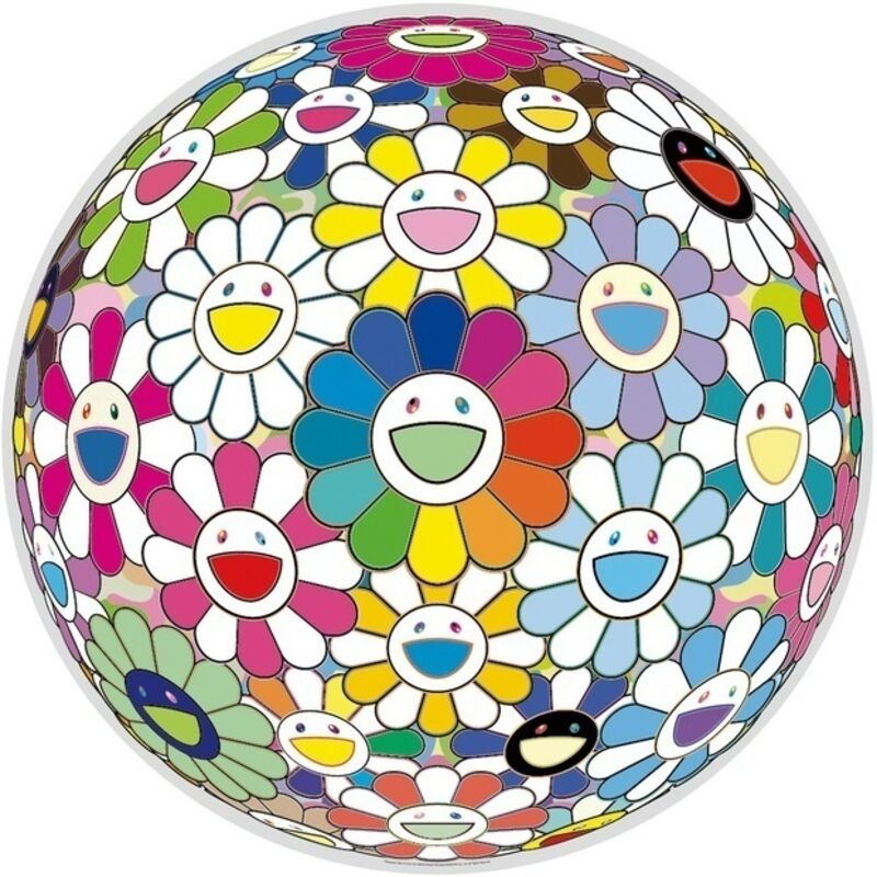 Takashi Murakami, 'Flowerball: Want to Hold You', 2015, Print, Offset-litograph on paper, Fineart Oslo