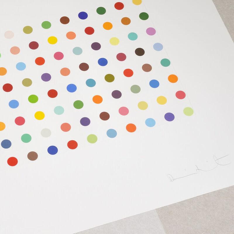 Damien Hirst, 'Damien Hirst, Bromphenol Blue', 2005, Print, Etching, Oliver Cole Gallery