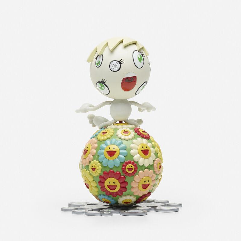 Takashi Murakami, 'Oval (Mr. Wink Cosmos Ball)', 2000, Sculpture, Colored plastic, vinyl, Rago/Wright