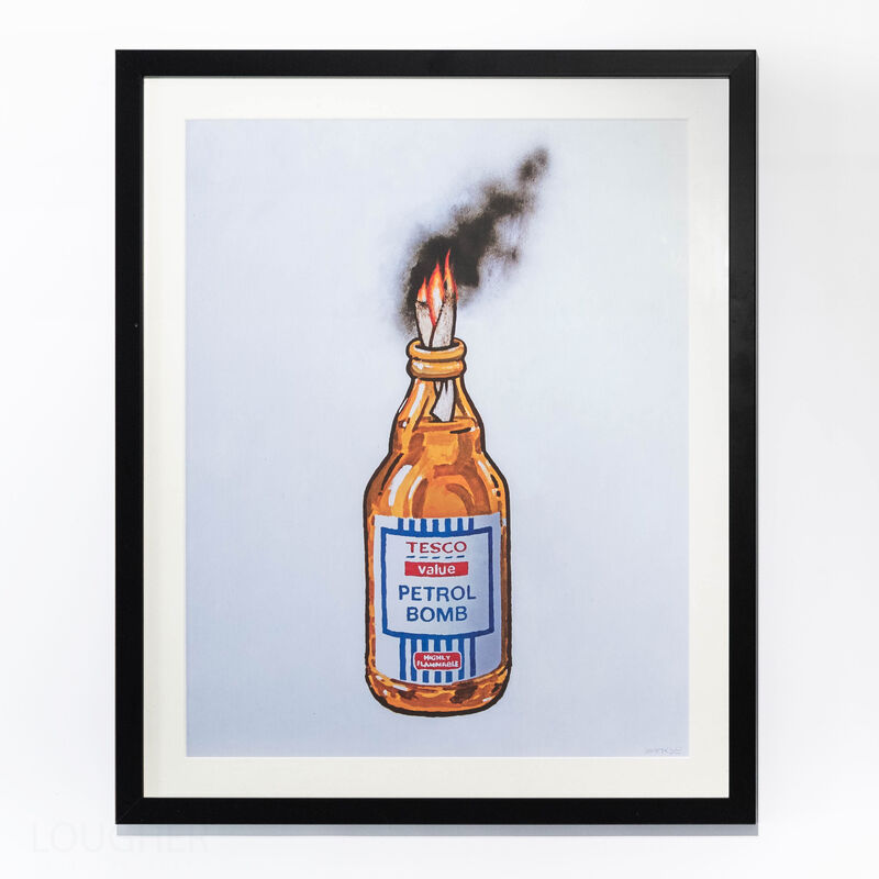 Banksy, 'Petrol Bomb', 2011, Print, Offset lithograph, Lougher Contemporary
